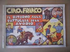 AVVENTURE DI CINO E FRANCO n°2 1973 RITORNO PATTUGLIA AVORIO  [G758] BUONO