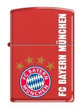Zippo Feuerzeug FC Bayern München Red matte
