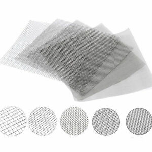 Stainless Steel #4 to #400 Mesh Micron True Filtration Screen Fine Wire Filter