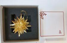 Danbury Mint Gold 2007 Star Bright Ornament Boxed