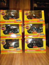 Matchbox 1993 Special Editions Harley Davidson Die Cast Complete Set of 6