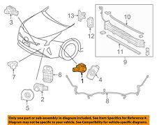 TOYOTA OEM 2018 Prius Rear Bumper-Park Sensor 8934158070E0