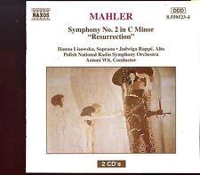 """Naxos - Mahler / Symphony No.2 """"Resurrection"""" - 2CD"""