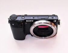 Nr.MINT Sony Alpha NEX-5T 16.1MP Digital Camera Black Body/Flash/Charger/Case