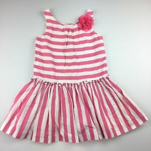 Girls size 2, Janie and Jack, lined cotton summer / party dress, EUC