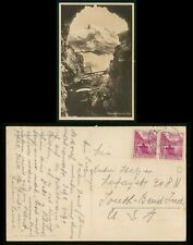 Mayfairstamps Switzerland to South Bend IN Mountains Postcard wwr_10529