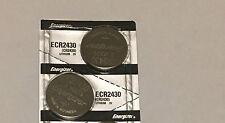 Energizer ECR2430 CR2430 3 V Litimum Batteries (2pcs)