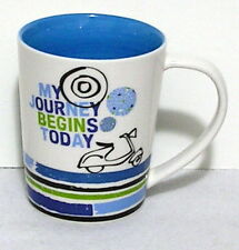 Starbucks Coffee Mug 14 ounce My Journey Begins Today ceramic Scooter Vespa