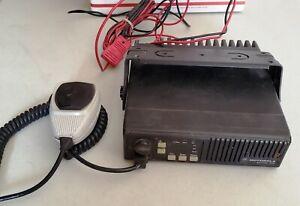 Motorola Radius Maxtrac 300  Mobile 2 Way Radio, with Microphone