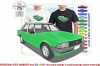 CLASSIC 79-82 XD FALCON SEDAN ILLUSTRATED T-SHIRT MUSCLE RETRO SPORT CAR