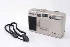 """MINOLTA TC-1 35mm Point & Shoot Film Camera  """"Excellent"""" #1198"""