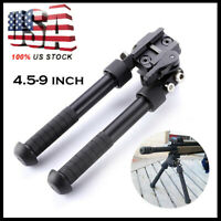 4.5- 9 Inches Hunting Rifle Bipod Adjustable Foldable for Picatinny Rail System