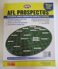 'AFL Prospectus: The Essential Number-Cruncher for Season 2012' - Football Book