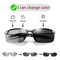 Sunglasses Men Photochromic HD Polarized Driving Glasses outdoor Sun Glasses nig