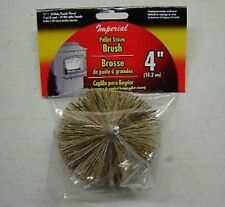 "4"" Pellet Stove Chimney Brush - New in Package"