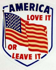 GUN STICKER DECAL  AMERICA LOVE IT OR LEAVE IT