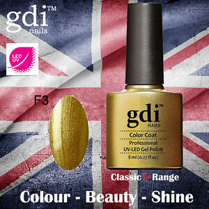 UK SELLER Gdi Nails CLASSIC Range F03 UV/LED Gel Soak Off nail polish