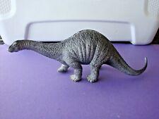 "Apatosaurus 2002 Schleich 9 1/2 "" Long Gray Dinosaur Solid Hard Figure Germany"