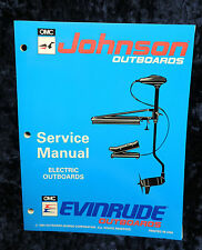 1994 Johnson Evenrude Service Repair Manual Electric Outboards