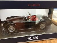 NOREV 182752 or 182754 AC COBRA 289 diecast model car white or black 1963 1:18th