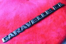 vw bus t3 : CARAVELLE CL - emblem schriftzug f. heckklappe LLE for T25 tail gate