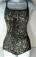 VINTAGE 1970's Cole of California Animal Print Swimsuit SIZE SMALL *NO SIZE TAG*