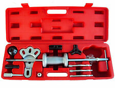 NEW 16PC AXLE SLIDE HAMMER DENT PANEL PULLER SET INTERNAL EXTERNAL USE TOOL KIT