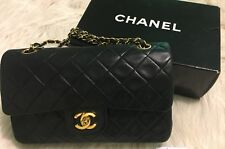 Chanel Classic Small Lambskin Flap Bag - Vintage