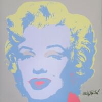 Andy Warhol, signed in the numbered stamp & authenticated by the CMOA