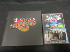 Yes 2014 Japan Tour Book with Promo Tour Flyer Concert Program Steve Howe Downes