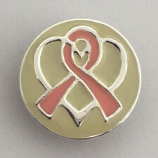 Authentic Kameleon Pink Ribbon & Silver Heart Jewelpop Jewel Pop Kjp119 New