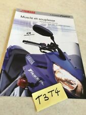 Yamaha FZS1000 Fazer FZS 600 moto prospectus brochure publicité prospekt pub