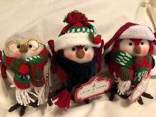 Trim A Tree Kmart Holiday Birds Lot Of 3 Christmas Winter 2018 'Tis The Season