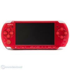 PSP / Playstation Portable - Konsole Slim 3000er #rot / Radiant Red + Stromkabel