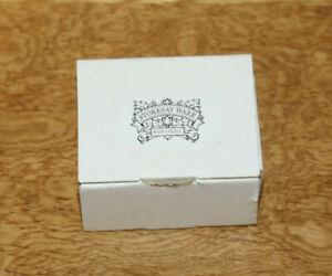 Dolls' House Miniatures - Stokesay Ware Fine China Bread Crock