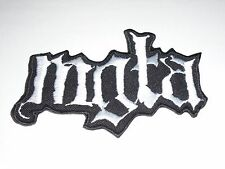 MGLA BLACK METAL IRON ON EMBROIDERED PATCH