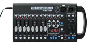 E-Lektron C-192A Mini DMX controller 12x 16 Total 192 Channels