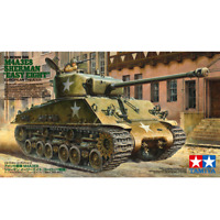"Tamiya 35346 U.S. Medium Tank M4A3ES Sherman ""Easy Fight"" European Theater 1/35"