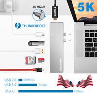 Wavlink USB 3. 0 Hub USB Adapter Thunderbolt 3 Type C to HDMI 4K for Macbook Pro
