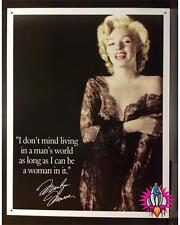 MARILYN MONROE MANS WORLD METAL WALL SIGN PLAQUE KITCHEN BAR DINER