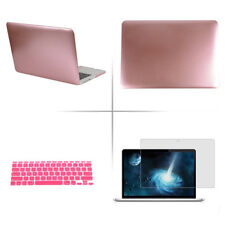 "Macbook Air 13/11 Pro 13/15 Retina 12"" Hard Case+Keyboard Cover+Screen Protector"