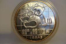 KEY DATE 1989 1 oz Silver Chinese Panda - (Sealed) RARE FIND