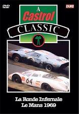 La Ronde Infernale - Le Mans 1969 (New DVD) Ford GT40 Porsche Motor Racing Ickx
