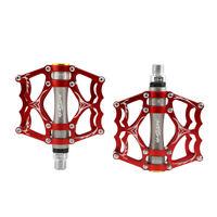 "Mountain Bike Pedals Platform Flat Aluminum Sealed 3Bearings Pedals 9/16"""