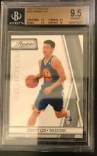 Jeremy Lin 2010-11 Prestige #187 Rookie Card RC Graded BGS 9.5
