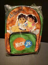 Nick Jr. Dora and Diego Toddler Backpack