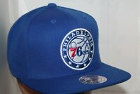 Philadelphia 76'ers Mitchell & Ness NBA Wool Solid Snapback,Hat,Cap  NEW