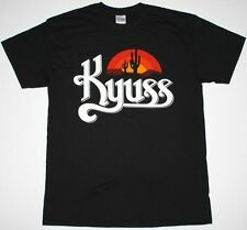KYUSS BLACK WIDOW MENS BLACK T SHIRT STONER ROCK QUEENS OF THE STONE AGE CLUTCH