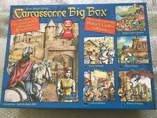 Rio Grande Carcassonne Big Box Board Game Base & 5 Expansions, Complete