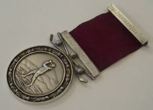 RARE ANTIQUE, SCOTTISH SILVER MEDAL, ROYAL ABERDEEN GOLF CLUB, MONTHLY MEDAL